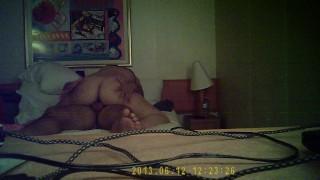 Hidden cam fucking big ass short air met on vacation